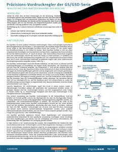 Cover GS Series Installation and Maintenance Guide German