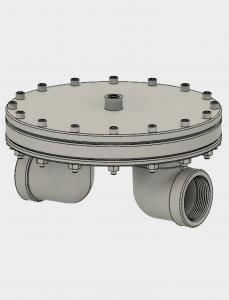 photo of Cover of Stepfile for BD12 Back Pressure Regulator - Stainless Steel