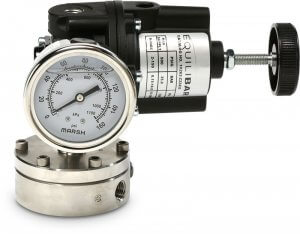 photo of Model 10 Forward Pressure Reducing Regulator to manually control your reference pressure